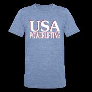 T-Shirts ~ Unisex Tri-Blend T-Shirt ~ Retro AA Jersey Blend