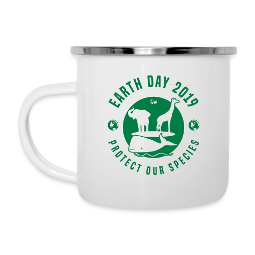 Earth Day 2019 Protect Our Species Camper Mug - Camper Mug