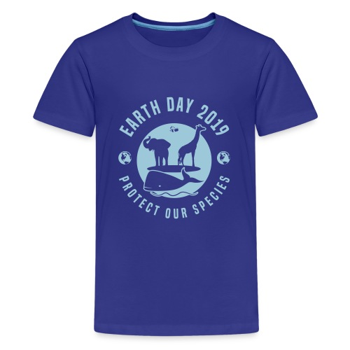 Earth Day 2019 Protect Our Species Kids Premium Tee Shirt - Kids' Premium T-Shirt