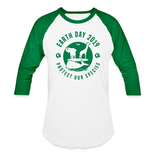Earth Day 2019 Protect Our Species Unisex Long Sleeve Baseball Tee - Baseball T-Shirt