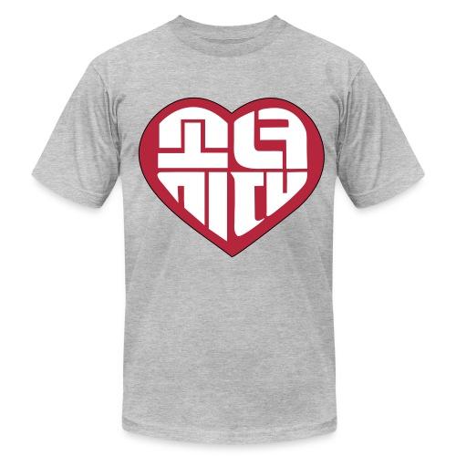 SNSD - IGAB Logo (Red) - Men's Fine Jersey T-Shirt