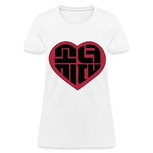 SNSD - IGAB Logo (Black-Red) - Women's T-Shirt