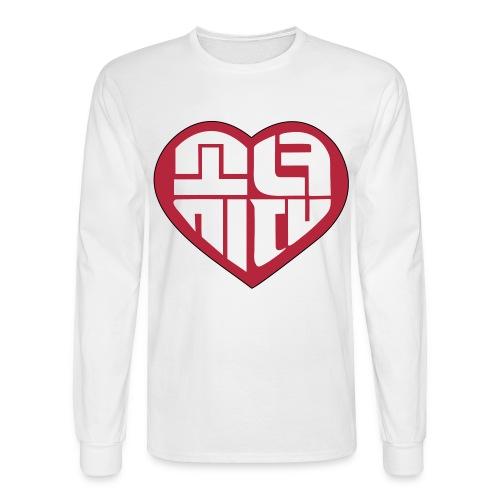 SNSD - IGAB Logo (Red) - Men's Long Sleeve T-Shirt