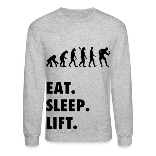 Eat Sleep Lift EVO - Crewneck Sweatshirt
