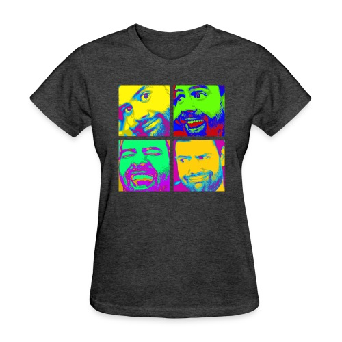 Women's Pop Art T-Shirt - Women's T-Shirt
