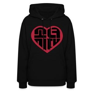 SNSD - IGAB Logo (Black-Red) - Women's Hoodie