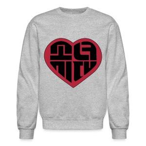 SNSD - IGAB Logo (Black-Red) - Crewneck Sweatshirt