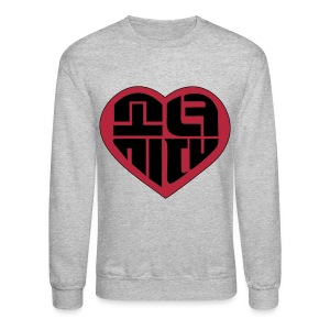 SNSD - IGAB Logo (Black-Red) - Crewneck Sweatshirt