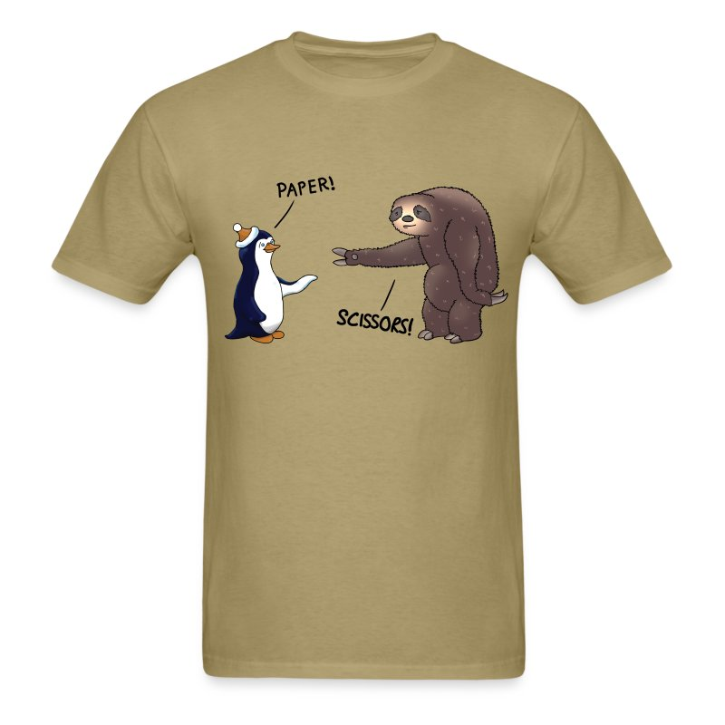 sloth and penguin t shirt spreadshirt. Black Bedroom Furniture Sets. Home Design Ideas