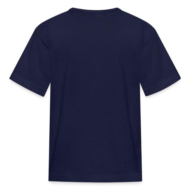Blue Shirt on Gameday Kids T-Shirt