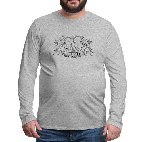 Men's Style Premium Long Sleeve T-Shirt -- Clover & Bitty - Men's Premium Long Sleeve T-Shirt