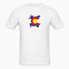 Colorado Splatter (Small Format) T-Shirts