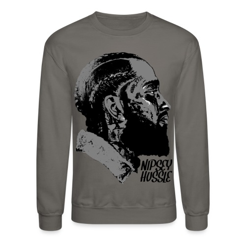 R.I.P. NIPSEY HUSSLE (GREY) - Crewneck Sweatshirt