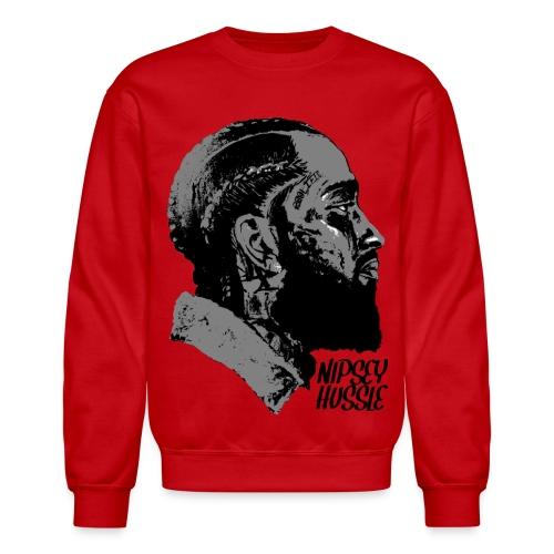 R.I.P. NIPSEY HUSSLE (RED) - Crewneck Sweatshirt