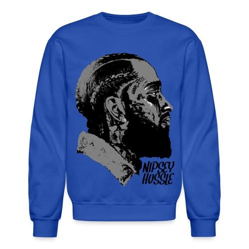 R.I.P. NIPSEY HUSSLE (BLUE) - Crewneck Sweatshirt