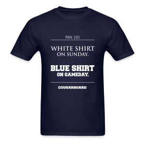 Blue Shirt on Gameday T-shirt - Men's T-Shirt