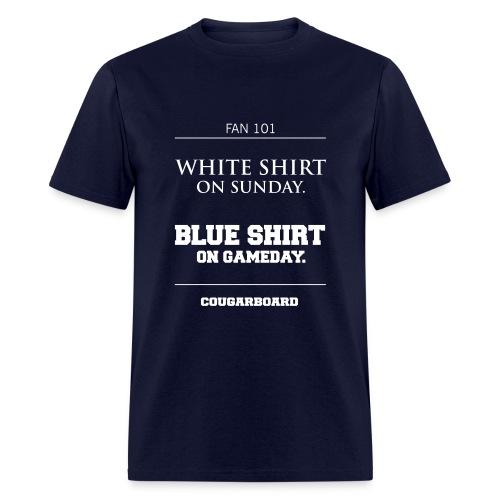 Blue Shirt on Gameday T-shirt - Men's T-Shirt