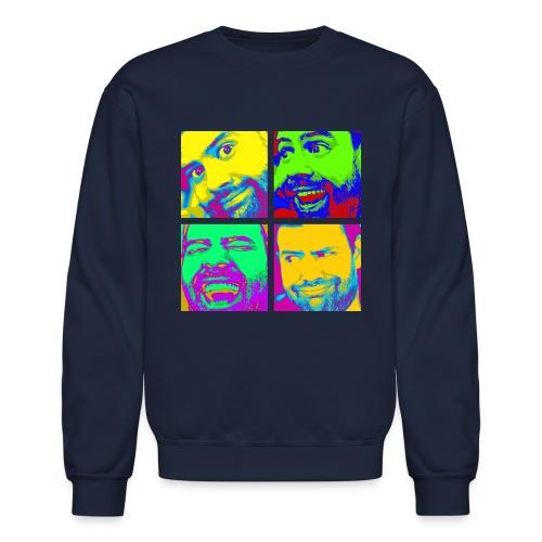 Men's Pop Art Crewneck Sweatshirt - Crewneck Sweatshirt