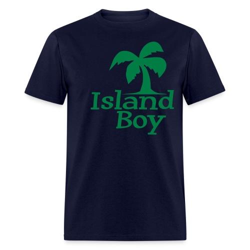 Men's Palm Logo (Blue) - Men's T-Shirt