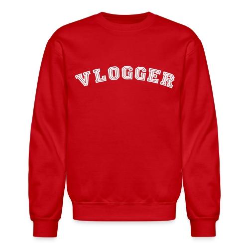Vlogger Pride Crewneck Sweater - Crewneck Sweatshirt