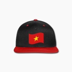 Vietnam Flag Wave Caps
