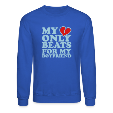 my heart beats only for my boyfriend Long Sleeve Shirts