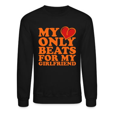 my heart beats only for my girlfriend Long Sleeve Shirts