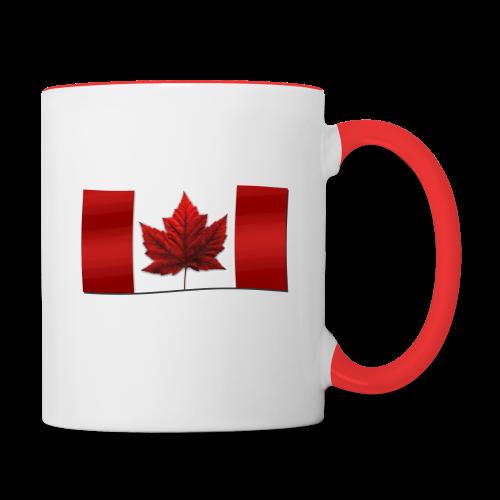 Canada Souvenir Cups Canada Flag Mug - Contrast Coffee Mug