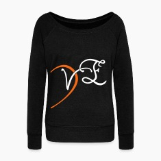 VE - LOVE couple shirt Long Sleeve Shirts