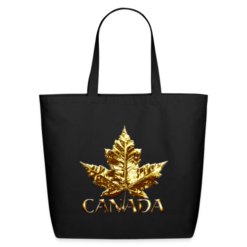 Canada Souvenir Tote Bags Gold Medal Canada Bags - Eco-Friendly Cotton Tote