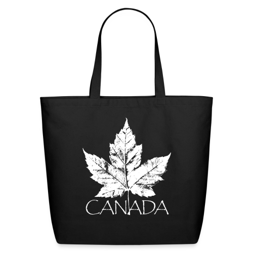 Cool Canada Tote Bags Canadian Maple Leaf Souvenir Bags  - Eco-Friendly Cotton Tote