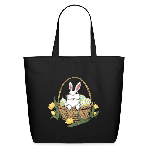 Easter Bunny Bag Easter Basket Shopping Bags - Eco-Friendly Cotton Tote
