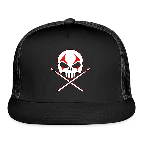 Rock and Roll Drummer Caps Death Metal Drummer Hats - Trucker Cap