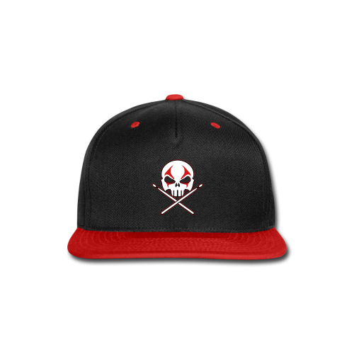 Rock and Roll Drummer Caps Death Metal Drummer Hats - Snap-back Baseball Cap