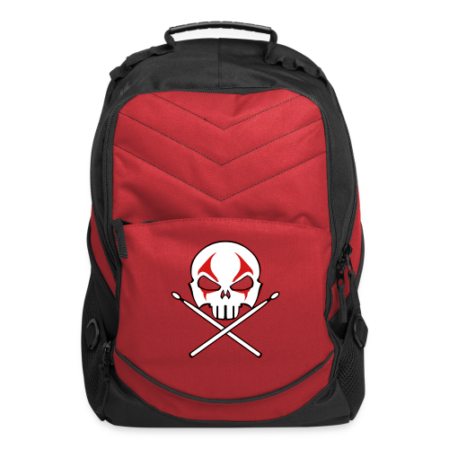 Rock and Roll Drummer Backpack Death Metal Drummer Bags - Computer Backpack