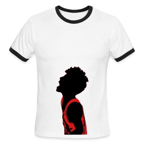 Mohawk Kid - Men's Ringer T-Shirt