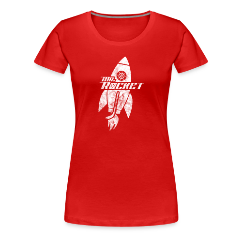 Mr. Rocket Women's Premium T-Shirt - Women's Premium T-Shirt