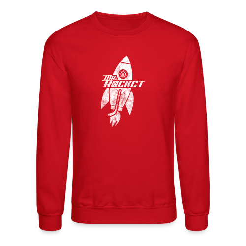 Mr. Rocket Crew Neck Sweatshirt - Crewneck Sweatshirt