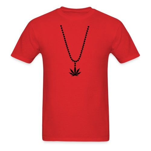 Weed necklace - Men's T-Shirt