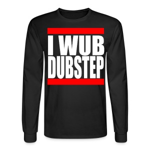 I Wub Dubstep Men's Long Sleeve T-Shirt - Men's Long Sleeve T-Shirt