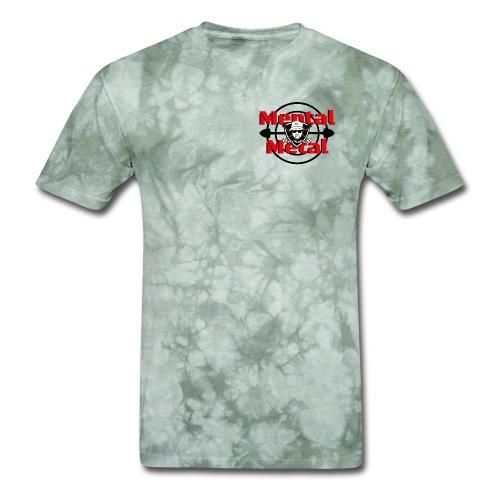 Mental Metal Detecting Camo Tee.  - Men's T-Shirt