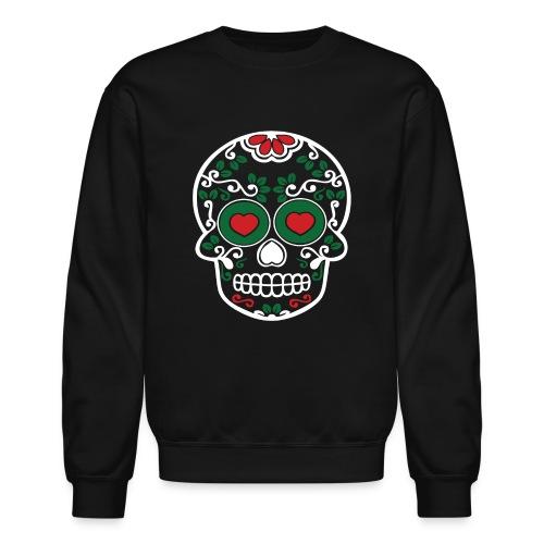 Sugar Skull Cinco de Mayo Mens Crewneck Sweatshirt - Crewneck Sweatshirt