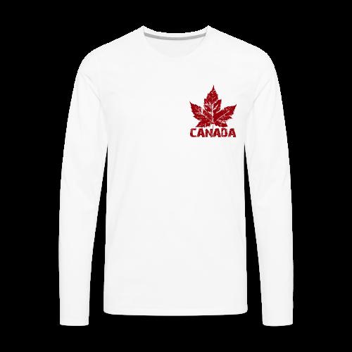 Canada Baseball Jerseys Classic Canada Souvenir - Men's Premium Long Sleeve T-Shirt