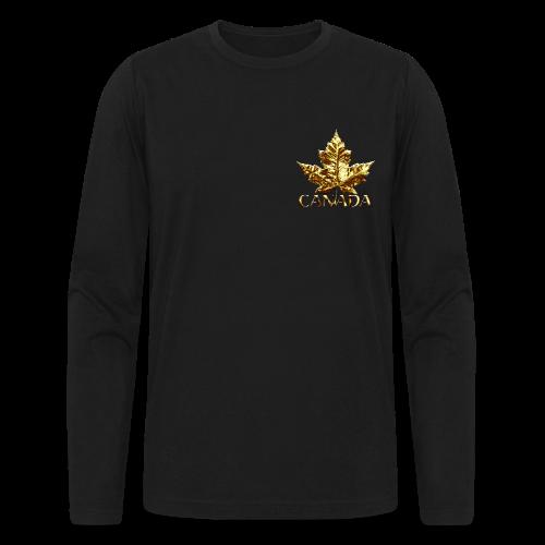 Canada Baseball Jerseys Classic Canada Souvenir - Men's Long Sleeve T-Shirt by Next Level