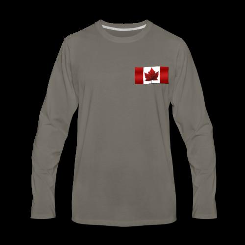 Canada Baseball Jerseys Canada Flag Souvenir Shirts - Men's Premium Long Sleeve T-Shirt