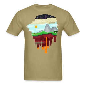 The 3 Realms - Minecraft Inspired T-Shirt - Men's T-Shirt