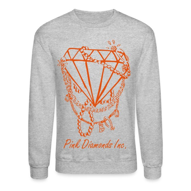 Crimson Diamond Crew Neck