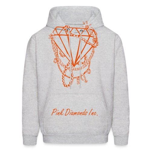 Crimson Diamond Hoody - Men's Hoodie