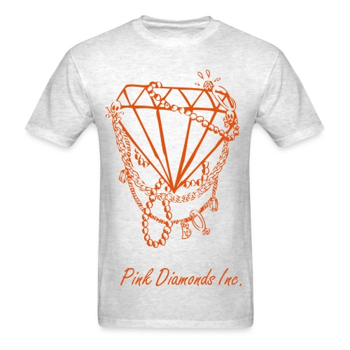 Crimson Diamond Shirt - Men's T-Shirt