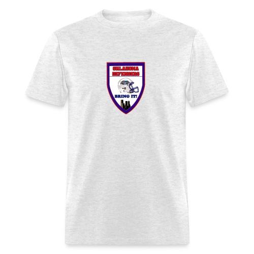 Large shield T - Men's T-Shirt
